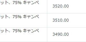 【4,457円】2020年8月3日の利益